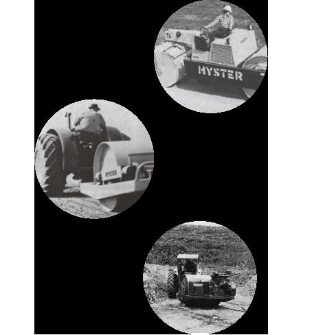 Premiers rouleaux compresseurs - premier compacteur à moteur