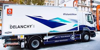 camion electrique renault trucks d