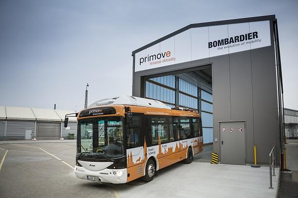 Avec Primove, les autobus de Bombardiern'ont pas besoin de câble pour se recharger.