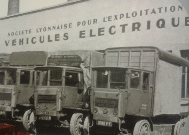 Les camions électriques ont été développéspar les constructeurs PL dès les années 1920.