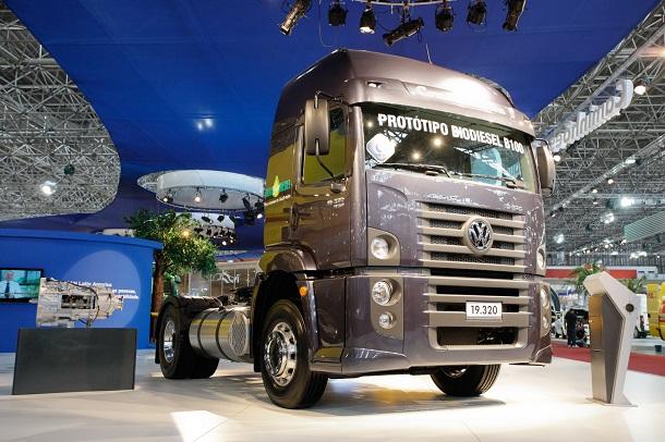 Le MAN B100 biodiesel a été développé au Brésil.