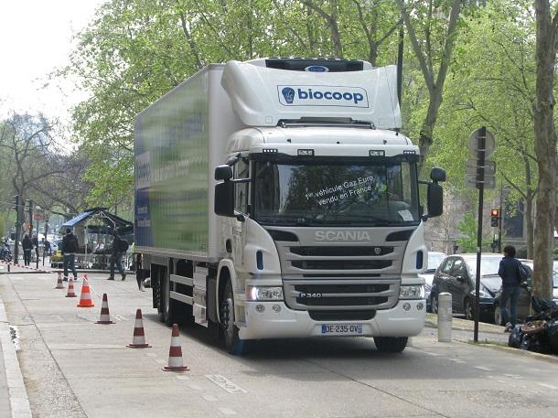Toute la gamme P de camions et tracteursScania est compatible au GNV.