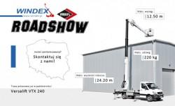 Firma Windex proponuje pokaz podnośnika Versalift VTX 240